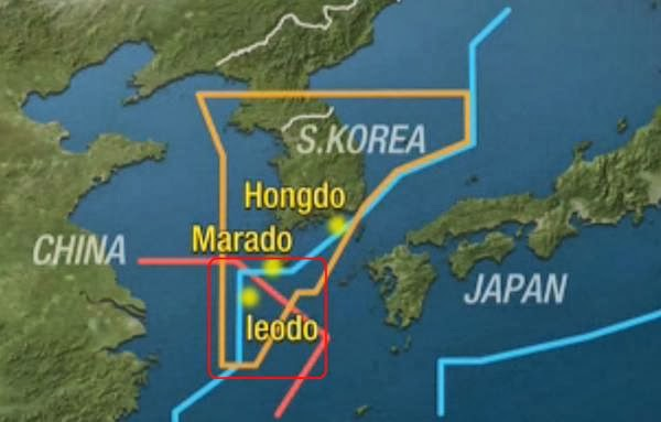 South Korea Claims Airspace Overlapping Japanese and Chinese Claims