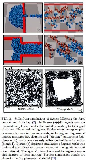 New mathematical law found to beautifully explain crowd phenomena