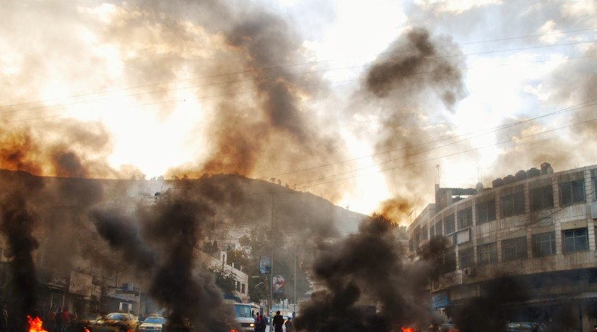 An Israeli soldier writes: The Judean hills are burning
