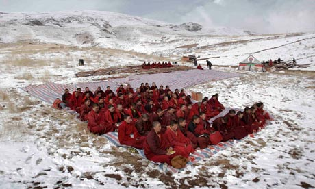 """Chinese charge government officials for being part of """"illegal underground Tibetan independence organization"""