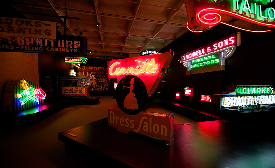 Neon and history: Museum of Vancouver's Permanent Light Show