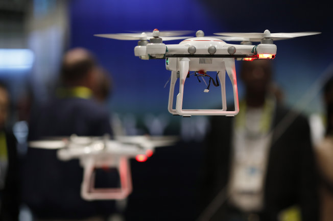 The future of drones - 2015 International Consumer Electronics Show