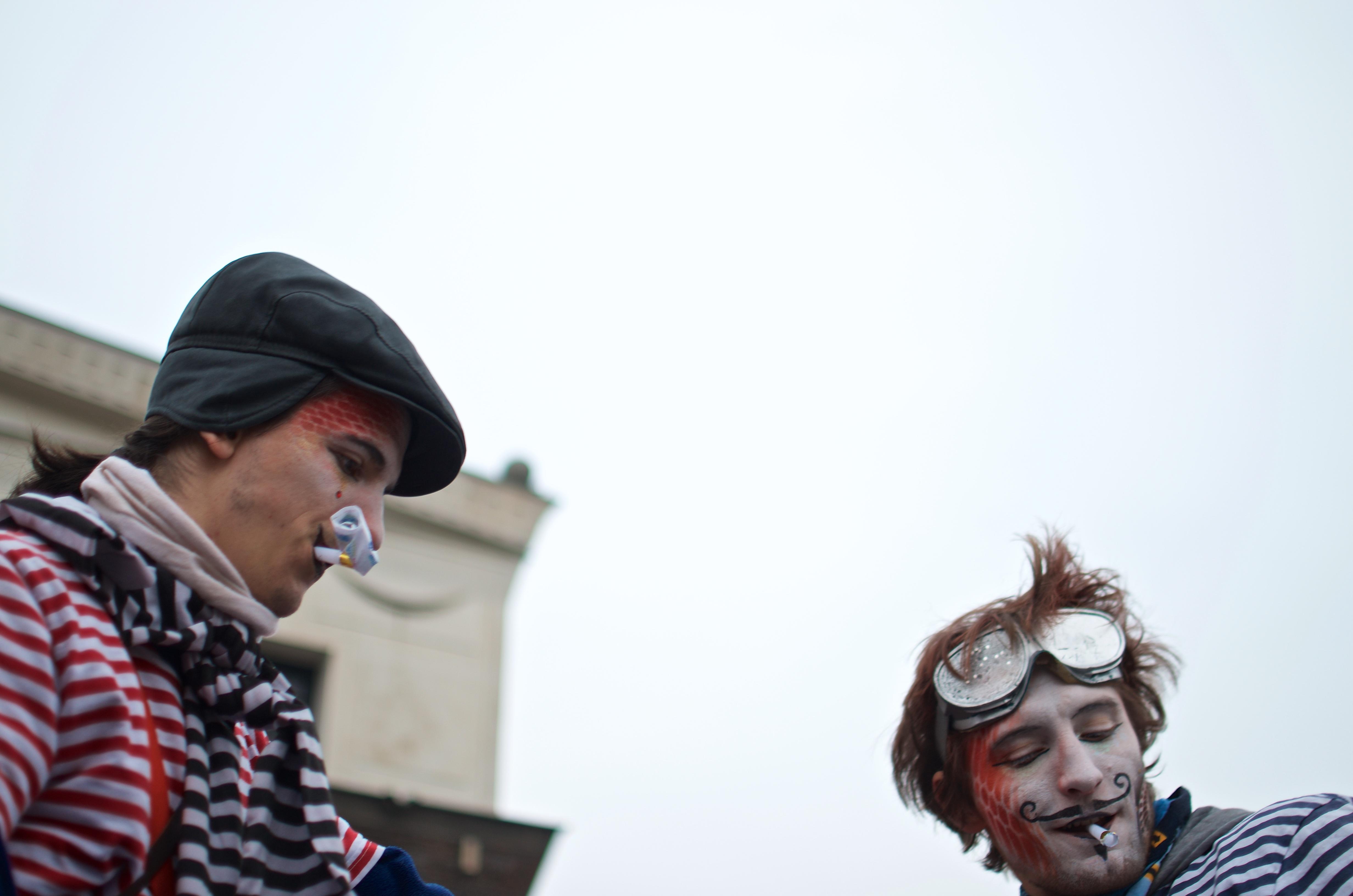 The Carnival parade in Žižkov, Prague