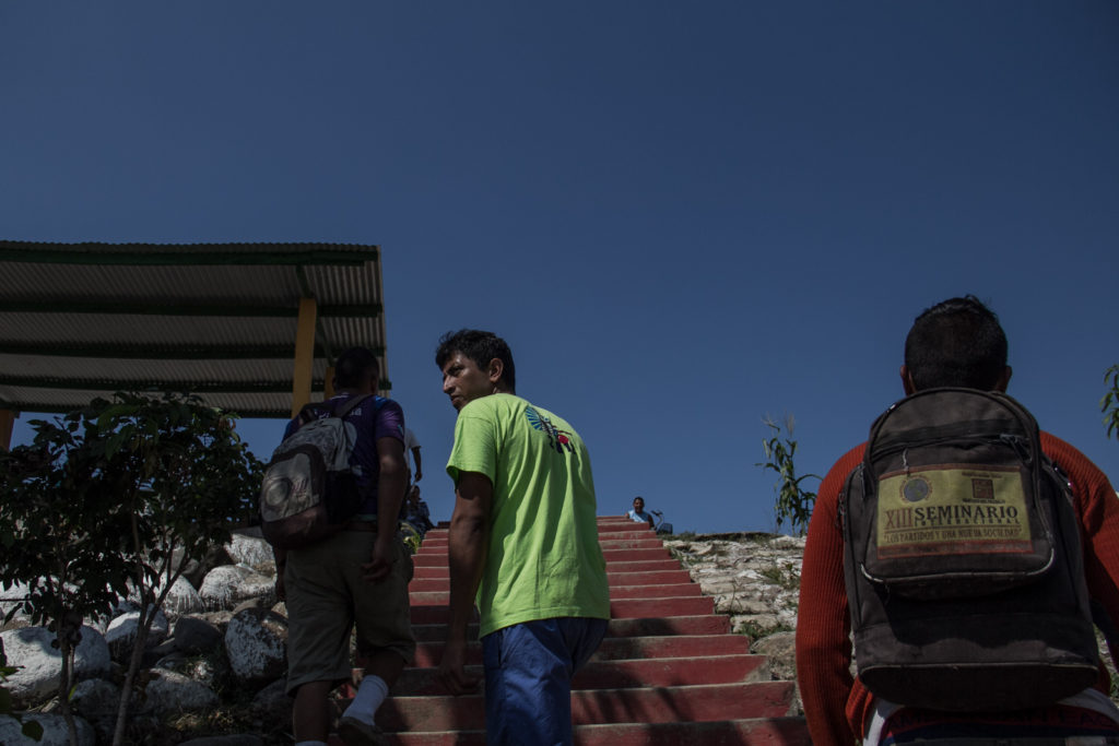 Immigrants are arriving to Mexico and will start walk to Tapachula in order to avoid checkpoints.