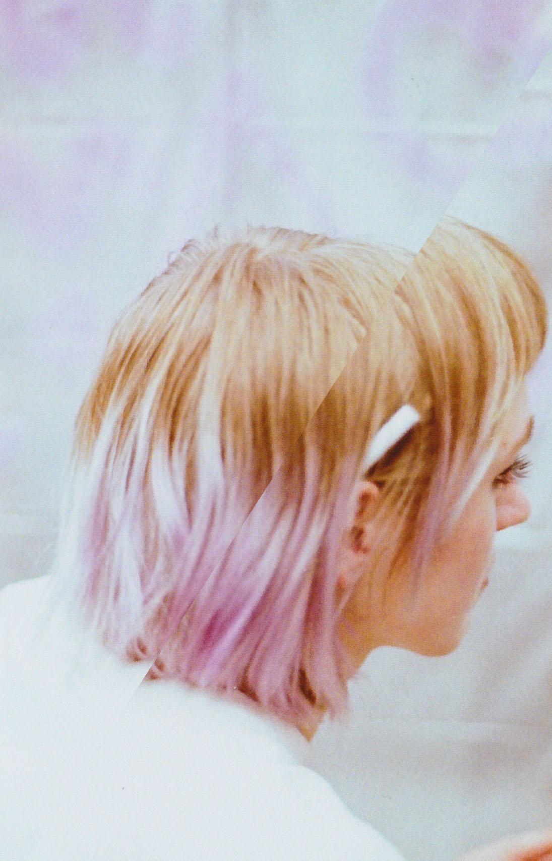 Impassive aesthetics Lou's frigid vignette of color