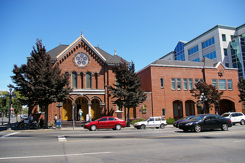 A synagogue in Vancouver, Canada