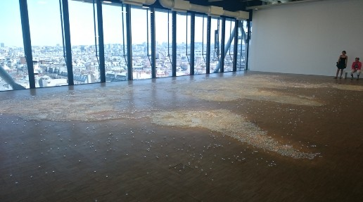 Mona Hatoum Map Clear