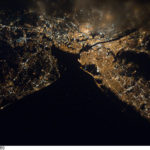 Trenton, New Jersey from space