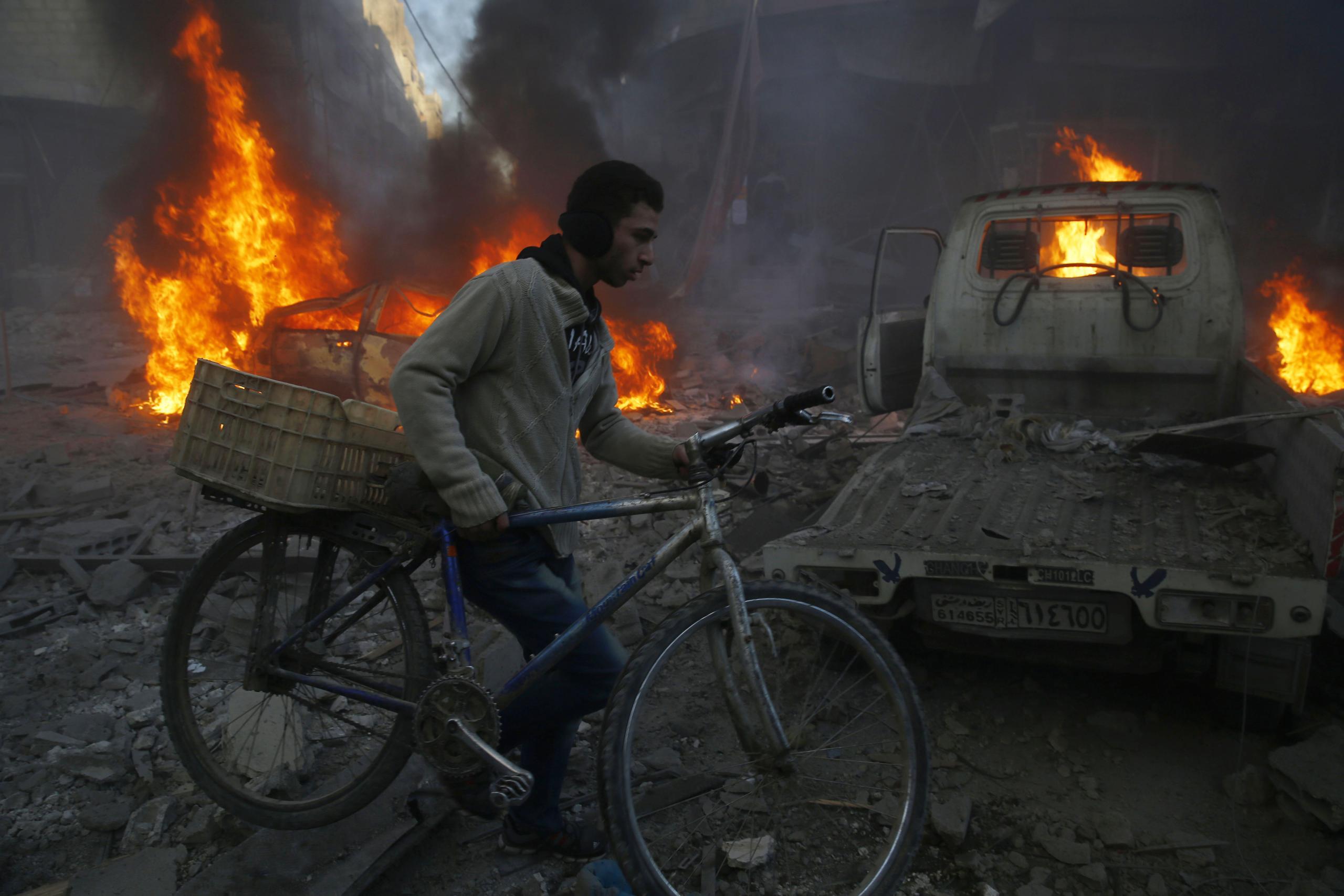 Sameer Al-Doumy, Syria, 2015, Agence France-Presse)