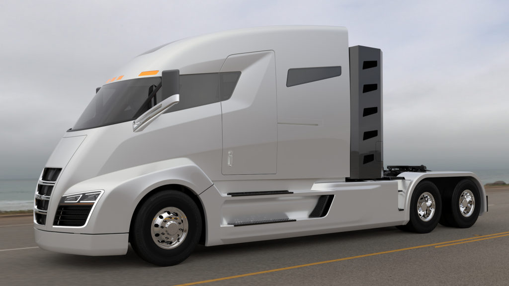 2,000 HP Electric Semi-Truck