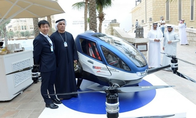 Dubai to Have Flying Driverless Cars This Summer